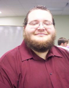 Having voted by absentee ballot, junior Ben Goodwin smiles and relaxes on Election Day.